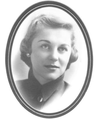 Jane Roberts' college graduation picture